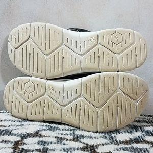 Easy Spirit Shoes - Easy Spirit Elastic Band Cork Bed Platform Thong